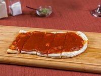 1/2 metro de pizza solo salsa