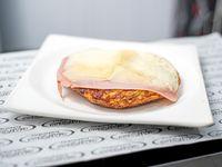 Tortilla de papa con jamon Y muzza