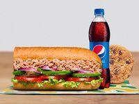 Combo Sándwich Atún 15 cm