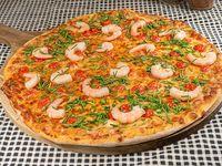 """Pizza  especial """"Camarón que se duerme"""""""