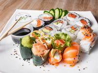 Tabla - 15 piezas combinadas en salmón