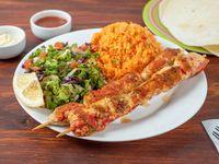 Kebab al plato