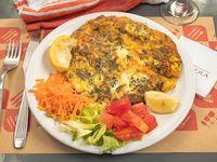 Omelette de verdes y queso