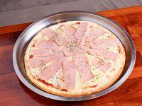 Promo - pizza grande con jamón y queso