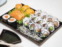 Tabla Kyoto todo salmón (20 piezas)