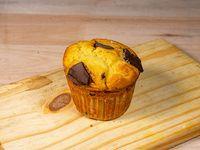 Muffin de maracuyá y chocolate