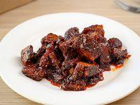 Pork belly roasted