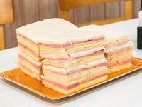 Docena de sándwiches de miga