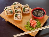 27 - Chicken furai roll (8 bocados)