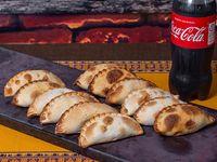 Promo - Docena de empanadas a elección + Coca Cola 1.5 L