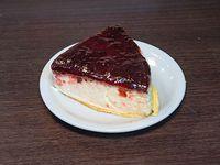 Porción De Torta Cheesecake