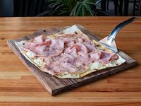2 - Pizza Margarita con jamón