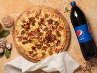 Pizza Grande + Gaseosa 1.5 L
