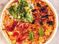 Pizza por Mitad Súper Desde