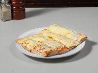 Porción pizza muzzarella común