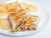 Wrap Bacon Cheese - tostado