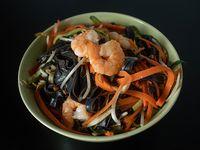Pad thai con camarón