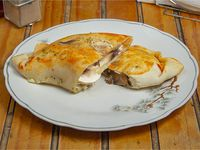 Empanada de champiñón y queso
