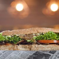 Sándwich de vegetariano