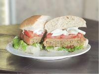 Hamburguesa Vegetariana de Lentejas y Quinoa Al Pan
