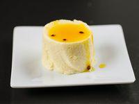Mousse de maracuya y mango