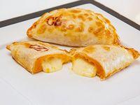Empanada de  calabaza y queso