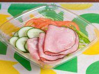 Ensalada de jamón de cerdo