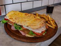 Sándwich Súper milanesa
