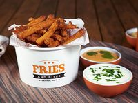 Sweet potato fries grandes