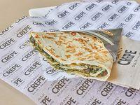S11 - Crepe con espinaca, champiñones y parmesano