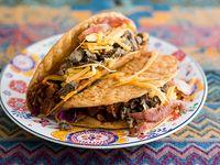 Tacos crispy campechano