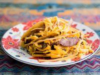 Taco crunch campechano