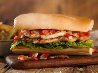Sándwich de pollo deshuesado