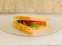 Sandwich caliente capresse simple