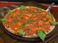 Pizza canchera rellena