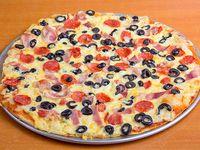 Pizza 3 sabores familiar