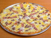 Pizza parrillera mediana