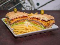 Sándwich Be Happy de lomo