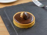Tarta de ganache de chocolate belga intenso