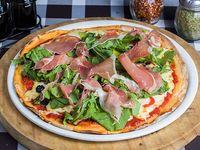 Pizza ibérica (8 porciones)
