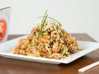 Classic wok de pollo