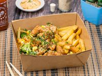 Bang Chicken and Beef Fries