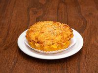 Tartaleta de cebolla y queso