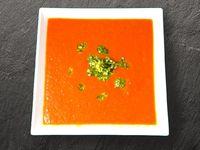 Crema de Tomates al Pesto