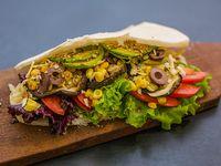 Sándwich veggie boom