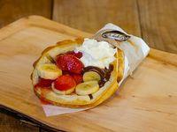 Waffle lady berrie de frutilla