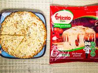 Pizza familiar (8 porciones)