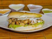 Sándwiches (14 cm) + ingrediente + mayo casera