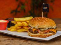 Sándwich de hamburguesa