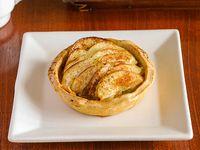 Tartaleta de manzana individual (sin azúcar agregado)